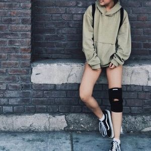 UO-exclusive slouchy hoodie